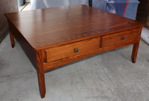 Danville 48″ Square Coffee Table - $689.00