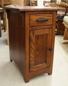 Mission 1-Door Chair Side Table - $299.00