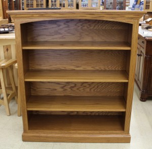 4′ Deluxe Traditional Bookcase [43 1/2″ Wide] - $549.00