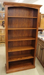 6′ Deluxe Traditional Bookcase [37 1/2″ Wide] - $679.00