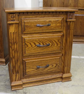 Traditional Deluxe Three Drawer Night Stand - $599.00