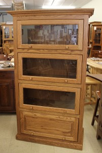 4-Stack One Piece Barrister Bookcase - $1,059.00