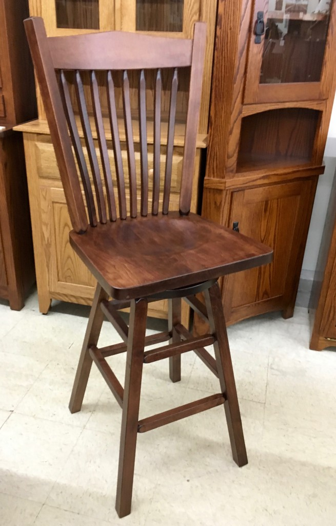 30 Post Mission Bar Stool Amish Traditions Wv