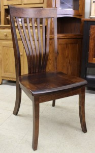 Christy Fan Back Side Chair - $269.00