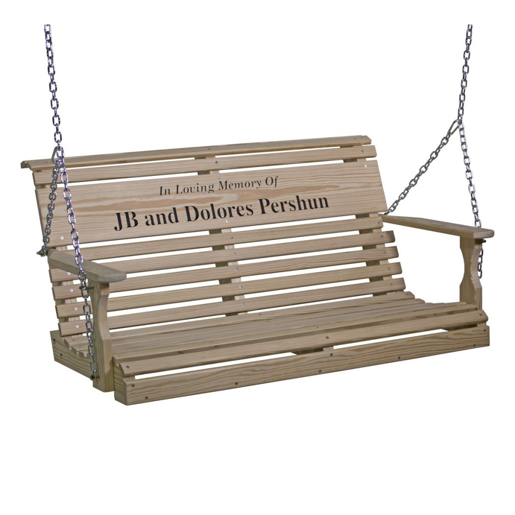 Wood 4' Rollback Personalized Swing - Contact Us For A Quote!