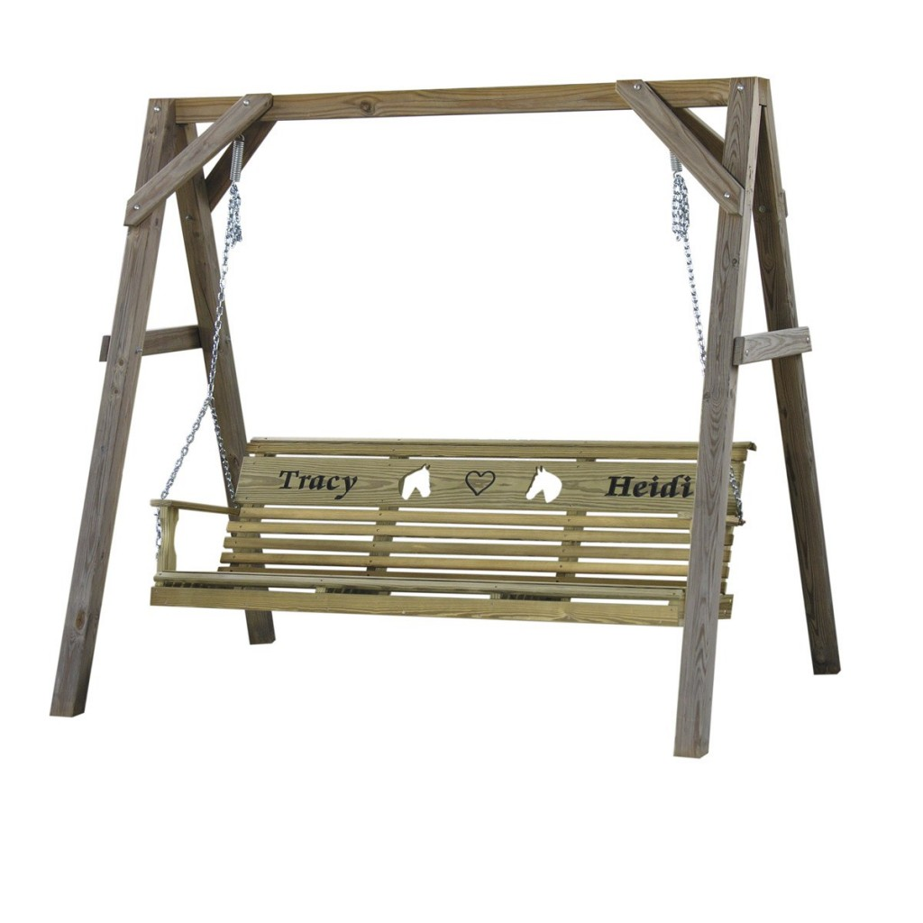 Wood 6' Rollback Personalized Swing - Contact Us For a Quote!